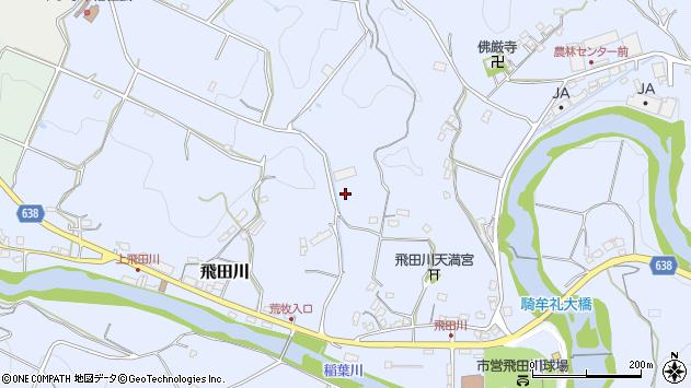 大分県竹田市飛田川2384周辺の地図