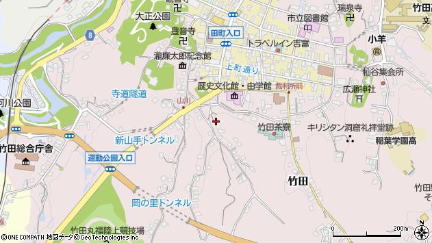 大分県竹田市竹田2416周辺の地図