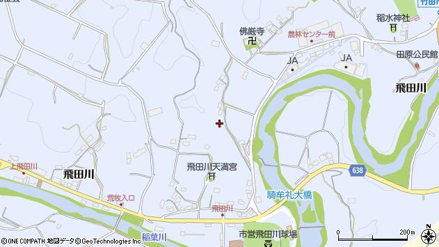 大分県竹田市飛田川2215周辺の地図