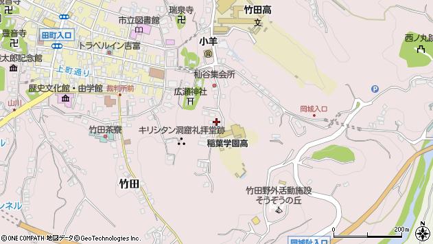 大分県竹田市竹田2508周辺の地図
