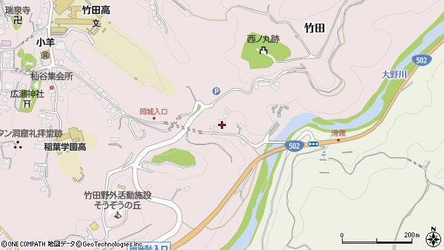 大分県竹田市竹田346周辺の地図