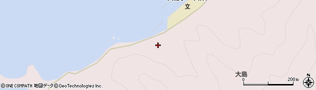 大分県佐伯市鶴見大字大島616周辺の地図