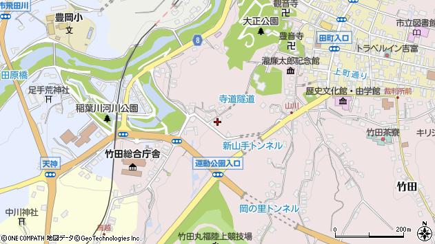 大分県竹田市竹田1626周辺の地図