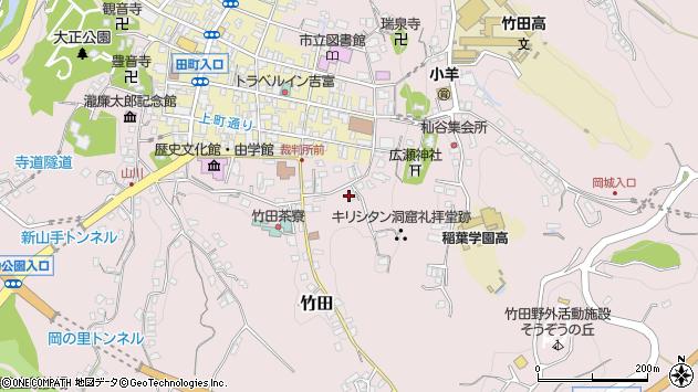 大分県竹田市竹田2038周辺の地図