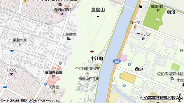 大分県佐伯市中江町鶴谷区周辺の地図