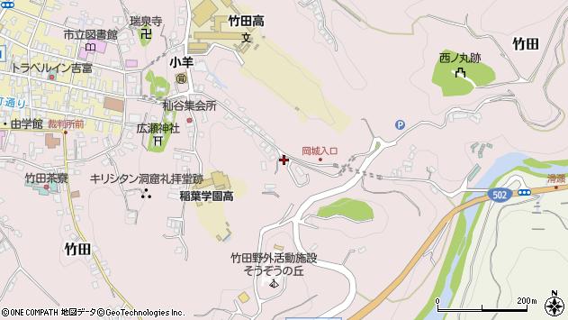 大分県竹田市竹田2590周辺の地図