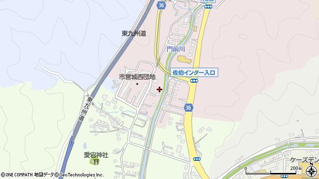 大分県佐伯市上岡2154周辺の地図