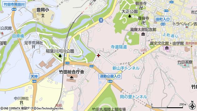 大分県竹田市竹田1617周辺の地図
