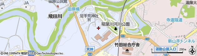 大分県竹田市飛田川1616周辺の地図