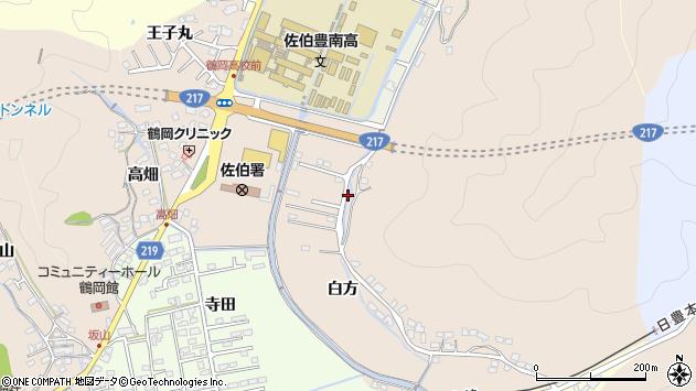 大分県佐伯市鶴望3718周辺の地図