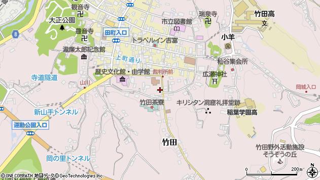 大分県竹田市竹田2066周辺の地図
