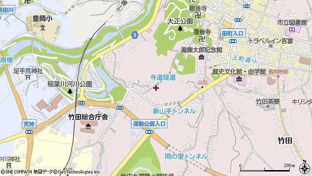 大分県竹田市竹田1640周辺の地図