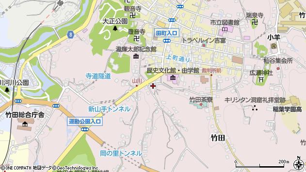 大分県竹田市竹田2242周辺の地図