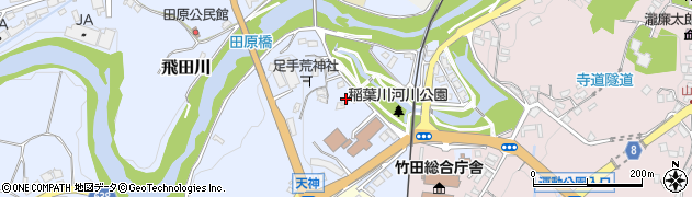 大分県竹田市飛田川1612周辺の地図