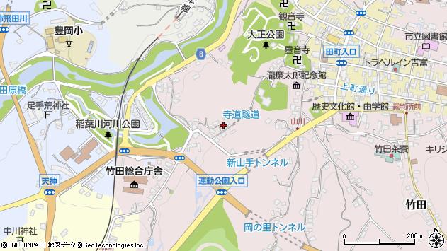 大分県竹田市竹田1146周辺の地図