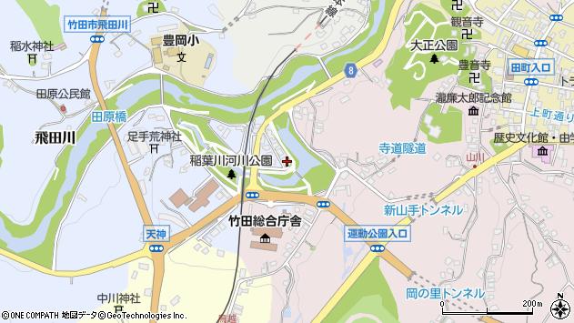 大分県竹田市飛田川1723周辺の地図