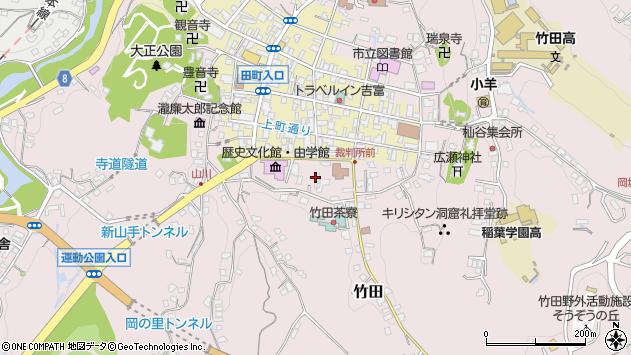 大分県竹田市竹田2079周辺の地図