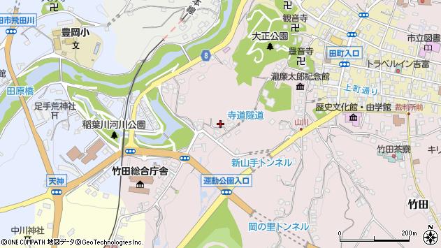 大分県竹田市竹田1654周辺の地図