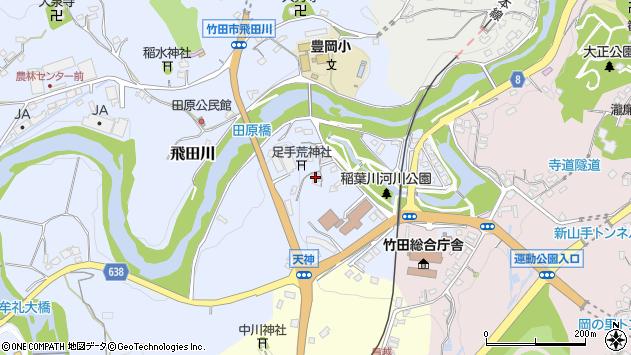 大分県竹田市飛田川1625周辺の地図