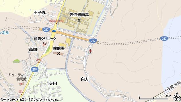 大分県佐伯市鶴望4053周辺の地図