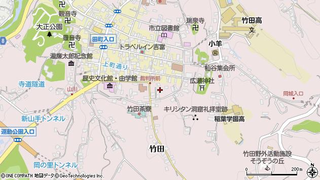 大分県竹田市竹田2063周辺の地図