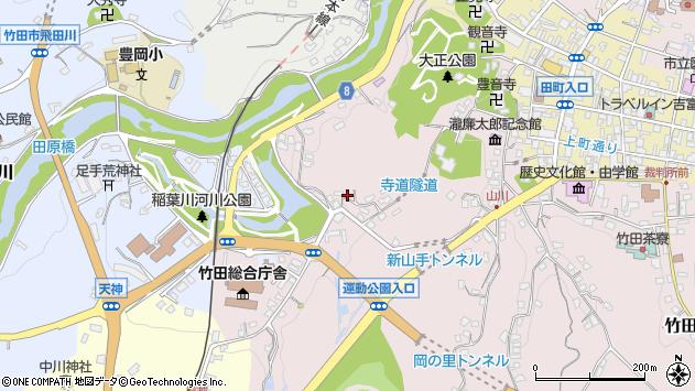 大分県竹田市竹田1664周辺の地図