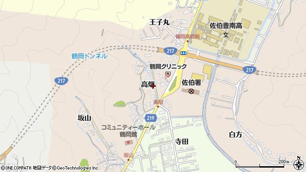 大分県佐伯市鶴望2724周辺の地図