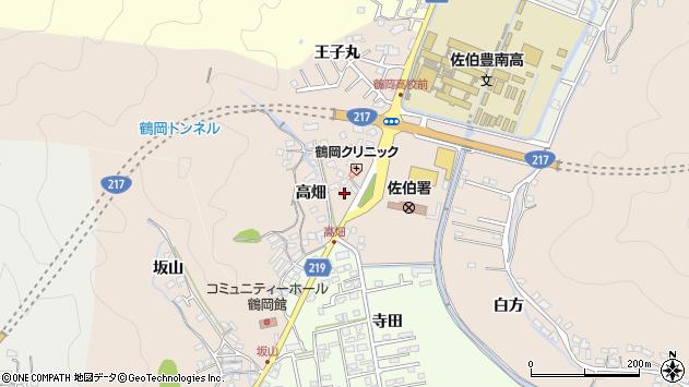 大分県佐伯市鶴望2727周辺の地図