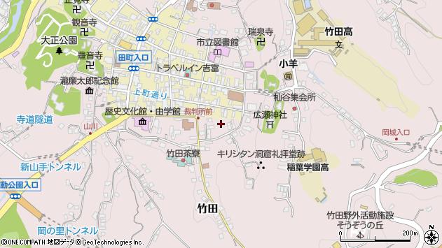 大分県竹田市竹田2037周辺の地図