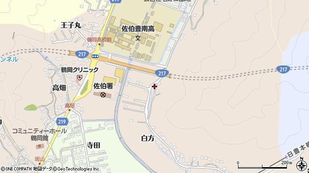 大分県佐伯市鶴望4052周辺の地図