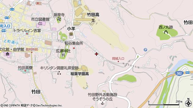 大分県竹田市竹田2580周辺の地図