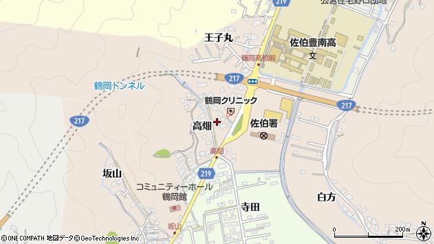 大分県佐伯市鶴望2730周辺の地図