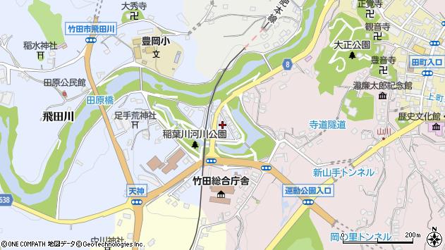 大分県竹田市飛田川1745周辺の地図