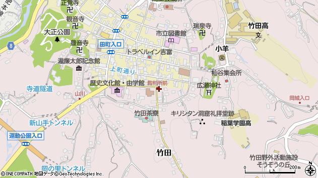 大分県竹田市竹田2064周辺の地図