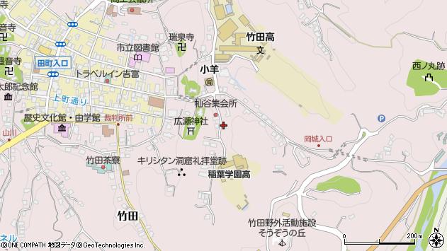 大分県竹田市竹田2556周辺の地図