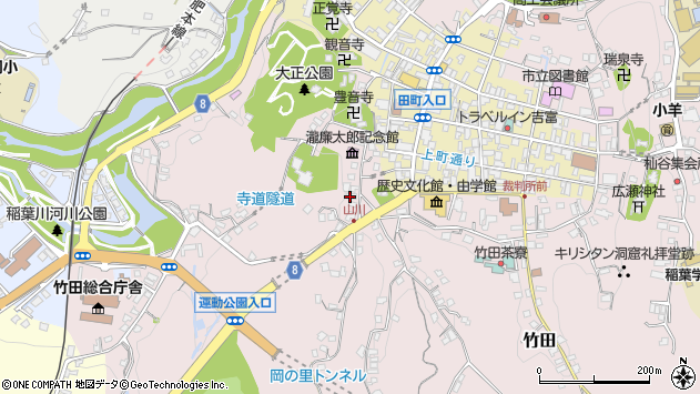 大分県竹田市竹田2125周辺の地図