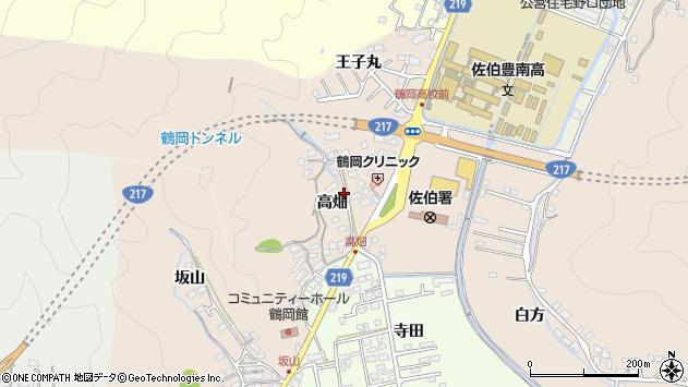 大分県佐伯市鶴望2708周辺の地図