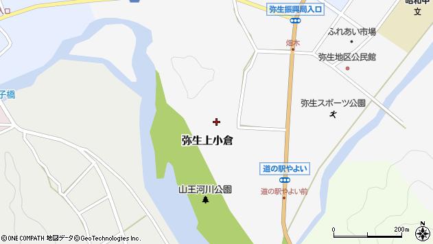 大分県佐伯市弥生大字上小倉759周辺の地図