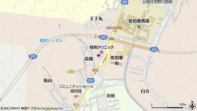 大分県佐伯市鶴望2729周辺の地図