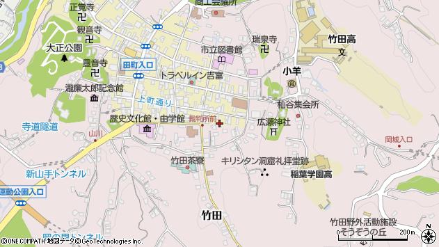 大分県竹田市竹田町13周辺の地図