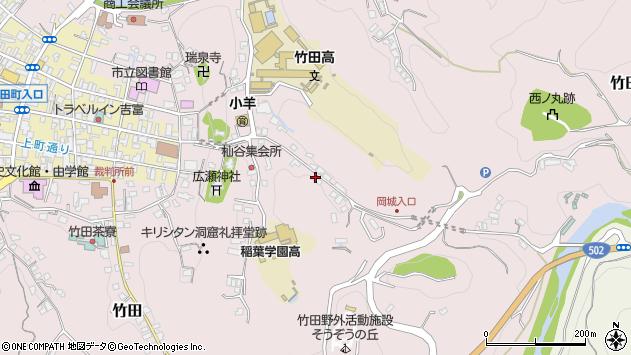 大分県竹田市竹田2576周辺の地図