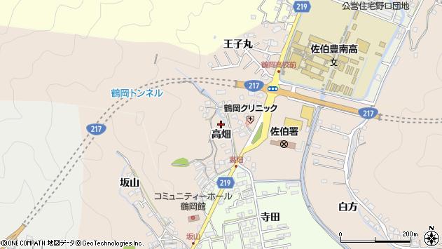 大分県佐伯市鶴望2707周辺の地図