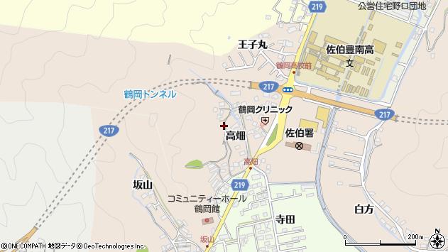 大分県佐伯市鶴望2663周辺の地図