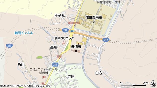 大分県佐伯市鶴望2830周辺の地図