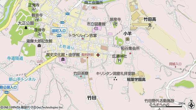 大分県竹田市竹田町10周辺の地図