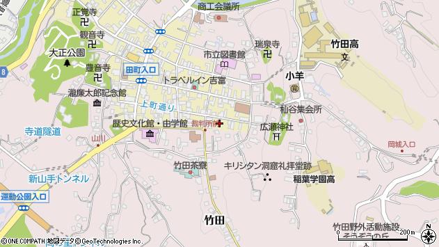大分県竹田市竹田町15周辺の地図