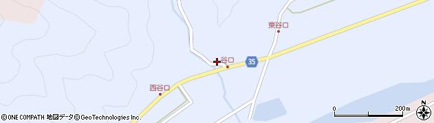 大分県佐伯市弥生大字山梨子967周辺の地図