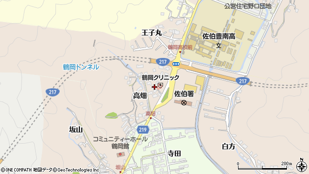 大分県佐伯市鶴望2731周辺の地図
