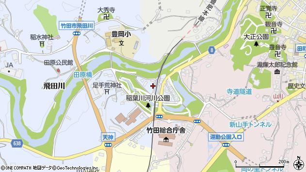 大分県竹田市飛田川1753周辺の地図
