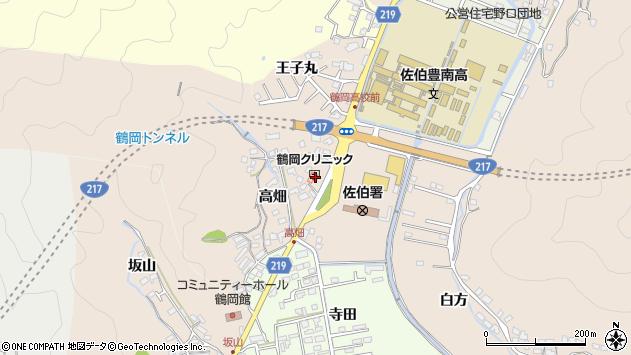 大分県佐伯市鶴望2738周辺の地図